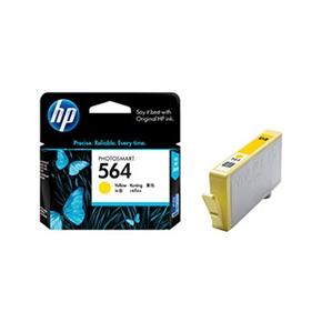 HP 原廠墨水匣CB320WA NO.564-黃色