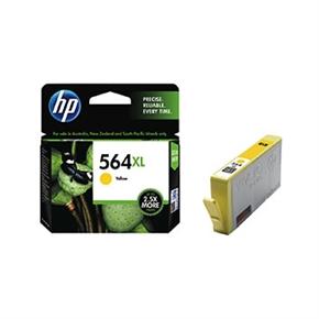 HP 原廠墨水匣CB325WA NO.564XL高容量-黃色