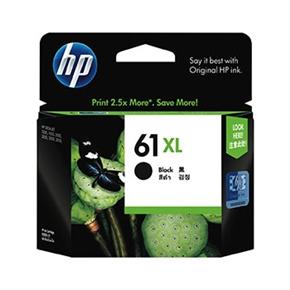 HP 原廠墨水匣CH563WA NO.61XL高容量-黑色