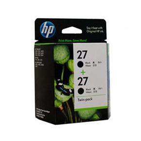 HP 原廠墨水匣CC621AA NO.27-黑色