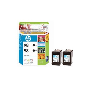 HP 原廠墨水匣CC624AA NO.98-黑色