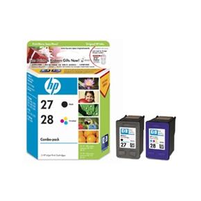 HP 原廠墨水匣CC628AA NO.27+28組合包