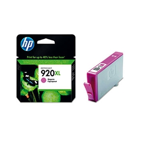 HP 原廠墨水匣CD973AA 高容量NO.920XL-紅色