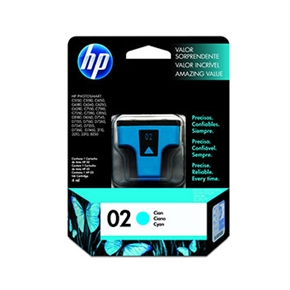 HP 原廠墨水匣C8771WA NO.02-青藍色