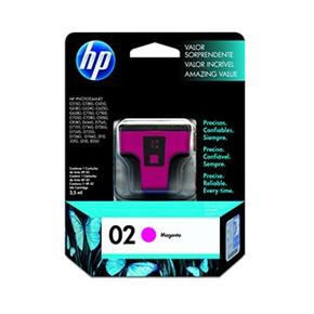 HP 原廠墨水匣C8772WA NO.02-洋紅色