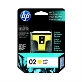 HP 原廠墨水匣C8773WA NO.02-黃色