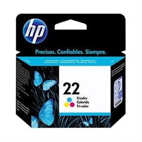 HP 原廠墨水匣C9352AA NO.22-彩色