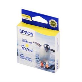 EPSON 原廠墨水匣 T075450-黃