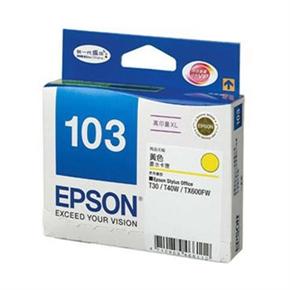 EPSON 原廠墨水匣 T103450 高容量-黃