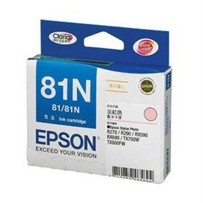 EPSON 原廠墨水匣T111650-淡紅