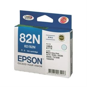EPSON 原廠墨水匣T112550-淡藍