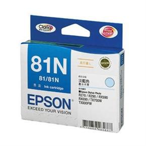 EPSON 原廠墨水匣T111550-淡藍