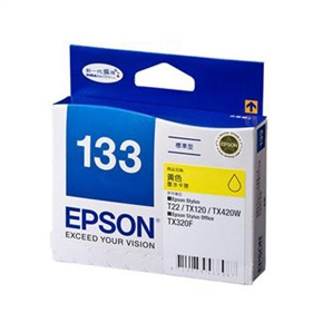 EPSON 原廠墨水匣T133450-黃