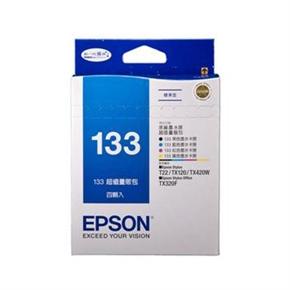 EPSON 原廠墨水匣T133650-四色量販包