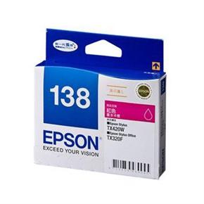 EPSON 原廠墨水匣T138350高印量L-紅
