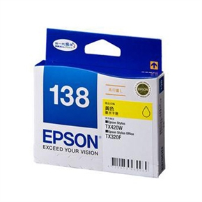 EPSON 原廠墨水匣T138450高印量L-黃