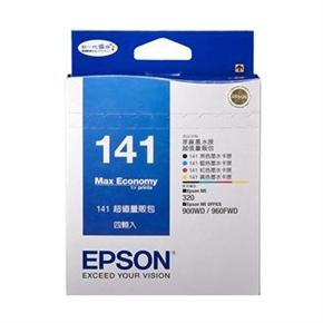 EPSON 原廠墨水匣T141650-四色量販包