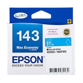 EPSON 原廠墨水匣T143250高印量XL-藍