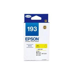 EPSON 原廠墨水匣T193450-黃