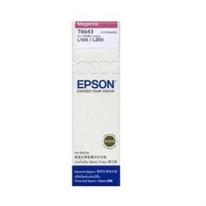 EPSON T664300 原廠墨水-紅