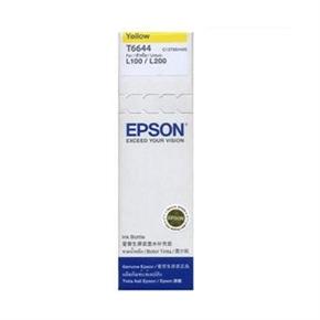 EPSON T664400 原廠墨水-黃