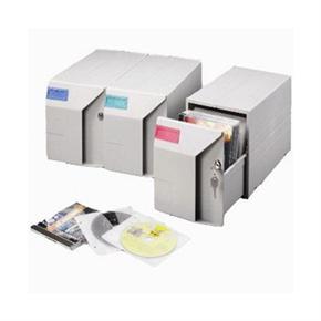 雙鶖 CD-201 組合式CD整理盒 100片裝