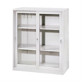 Y112-12 玻璃拉門三層式公文櫃