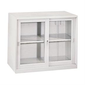 Y112-1 OG-2G 玻璃拉門二層理想櫃