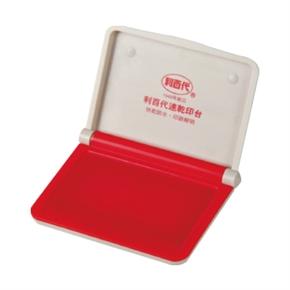 利百代 STP-01 速乾打印台 紅色