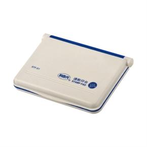 利百代 STP-01 速乾打印台 藍色