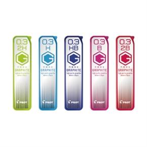 PILOT百樂 HRF-3G 超級G鉛筆芯0.3mm H