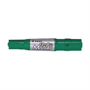 PILOT百樂  MFN-15FB 雙頭麥克筆-中粗 綠