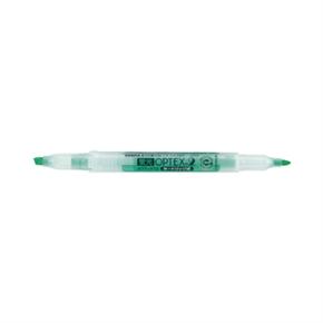 斑馬 WKT4-G 雙頭螢光筆 綠