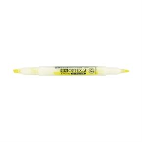 斑馬 WKT4-Y 雙頭螢光筆 黃