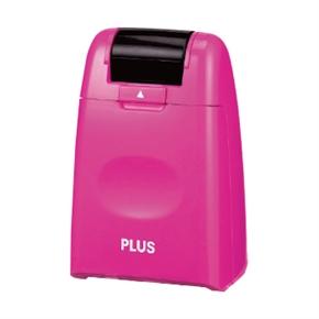 PLUS IS-500CM 37872 滾輪個人資料保護章 粉