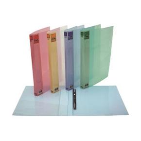 自強 310 PP粉彩透明中間彈簧夾(粉紅)