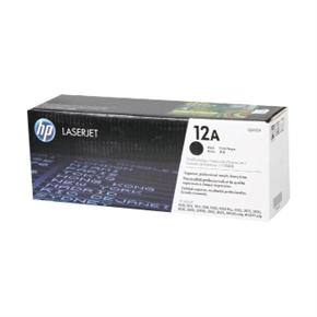 HP 原廠碳粉匣 Q2612A 黑色