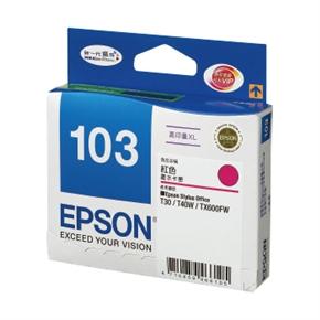 EPSON 原廠墨水匣 T103350 高容量-紅