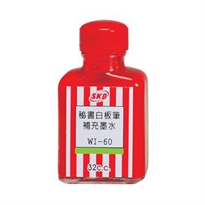 SKB WI-60 白板筆補充液 紅