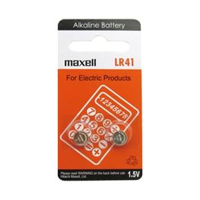 MAXELL LR41 水銀電池 2入一卡