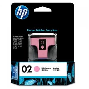 HP 原廠墨水匣C8775WA NO.02-淡洋紅色