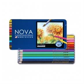 SKB NP-170  繪樂趣 12色 水溶性色鉛筆