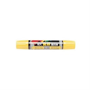 利百代 908 麥克筆 特大雙頭 黃