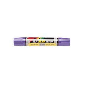 利百代 908 麥克筆 特大雙頭 紫