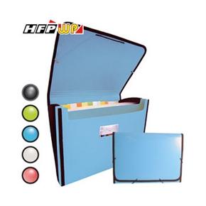 (在庫*13)HFP 41311-SN 風琴夾+收納盒(天空藍)