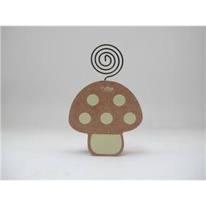 森林系造型留言夾-蘑菇