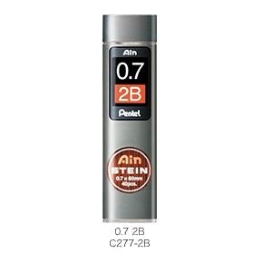 Pentel飛龍 C277-2B Ain STNIN筆芯 0.7mm