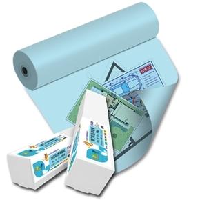 彩之舞 HY-R9036BL 36吋 進口彩色海報紙-天藍色 90g 45m
