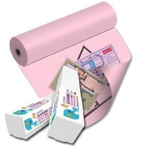 彩之舞 HY-R9036PK 36吋 進口彩色海報紙-粉紅色 90g 45m