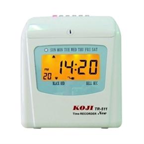 KOJI TR-511  六欄位微電腦 打卡鐘